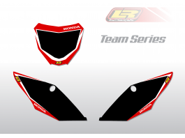 HONDA team series number backgrounds