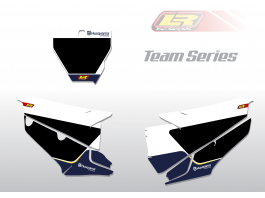 HUSQVARNA team series number backgrounds