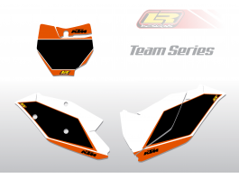 KTM team series number backgrounds