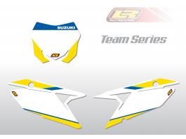 SUZUKI team series number backgrounds