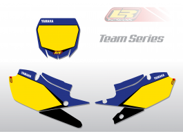 YAMAHA team series number backgrounds