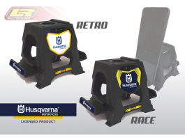 LR DESIGNS HUSQVARNA UNIVERSAL MOBILE DEVICE BIKE STAND HOLDER