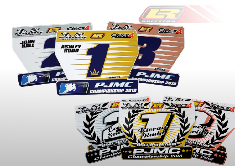 trophy plates
