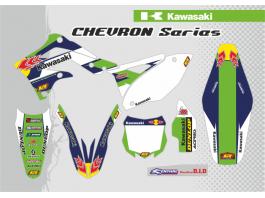 KX / KXF CHEVRON DECAL KIT