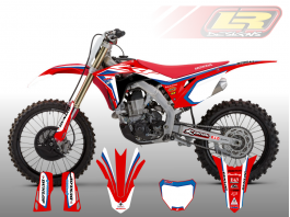 HONDA FACTORY DECAL KIT