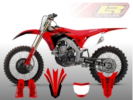 HONDA RACER DECAL KIT