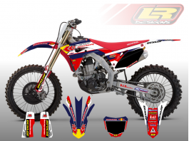 HONDA CHEVRON DECAL KIT