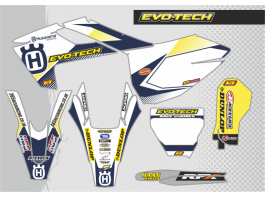 HUSQVARNA EVOTECH DECAL KIT
