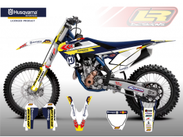 HUSQVARNA CHEVRON DECAL KIT