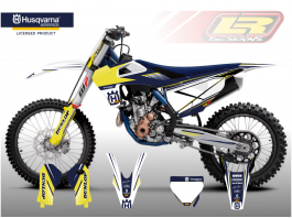 HUSQVARNA CYCLONE DECAL KIT