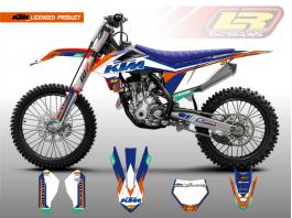 KTM Velocity Licensed Products – Orange/Blue