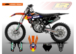 KTM AMA SERIES LICENSED PRODUCT – ORANGE/BLACK