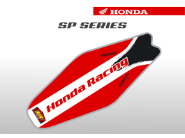 Honda SP Series Duratex Seat Cover