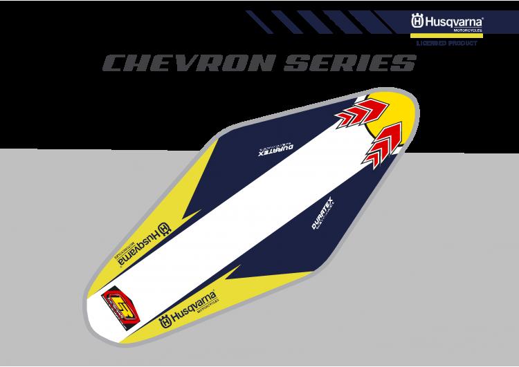 Husqvarna Chevron Duratex Seat Cover