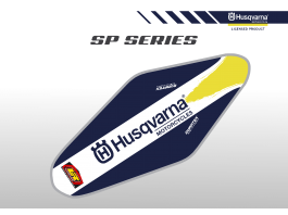 Husqvarna SP Series Duratex Seat Cover