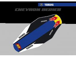 Yamaha Chevron Duratex Seat Cover – Blue/Black
