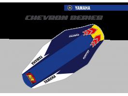 Yamaha Chevron Duratex Seat Cover– Blue/Blue