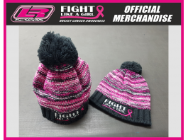 Fight Like A Girl Bobble Hat