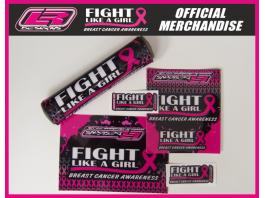 Fight Like A Girl Bar Pad Sticker