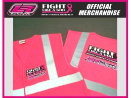 Fight Like A Girl Hi Viz Vest
