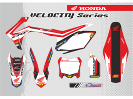 HONDA VELOCITY DECAL KIT