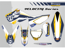 HUSQVARNA VELOCITY DECAL KIT
