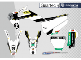 GEARTEC HUSQVARNA 2019 DECAL KIT