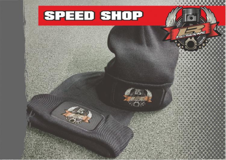 LR Designs speed shop Beanie