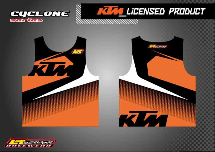LR Cyclone KTM race Vest