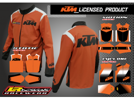 LR Designs KTM Jacket (youth)