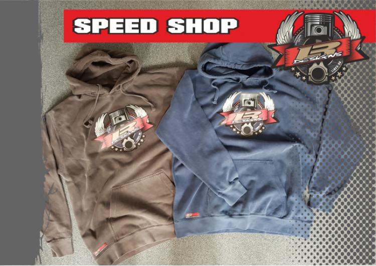 LR Designs Speed Shop Hoodie