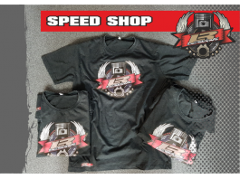 LR Designs Speed Shop T-shirt
