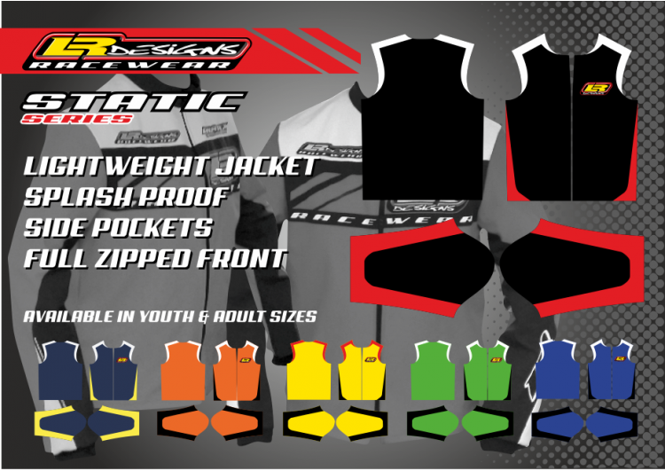 LR Designs static Jacket (adult)
