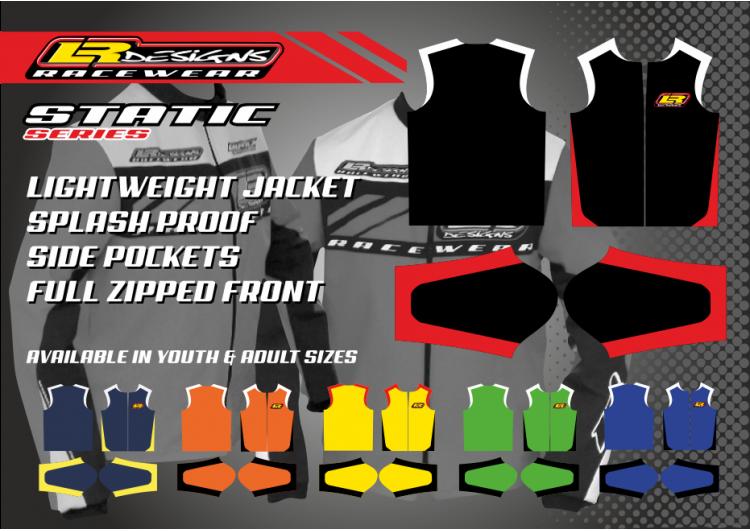 LR Designs static Jacket (youth)