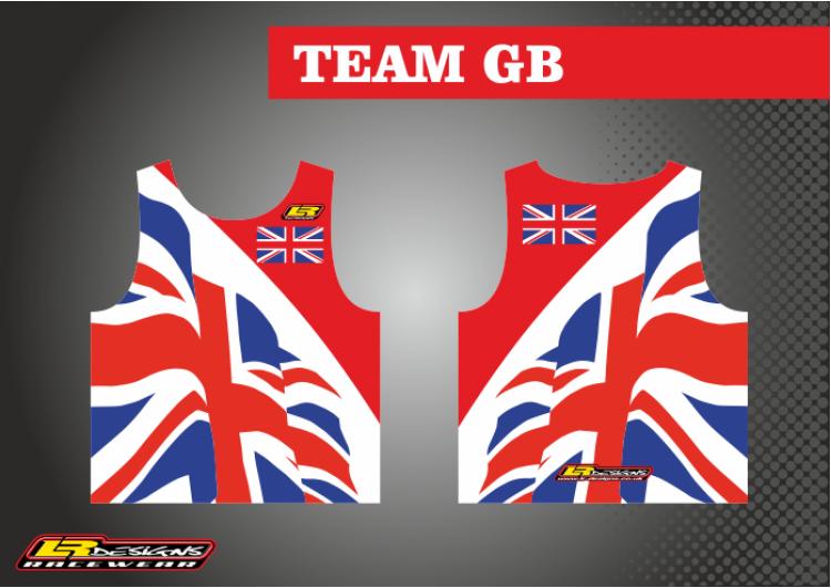 LR team gb race Vest