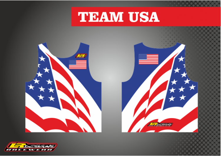 LR team usa race Vest