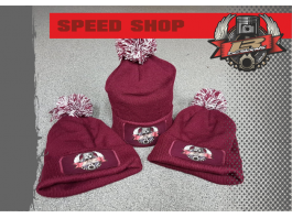 LR Designs Speed Shop Bobble Hat